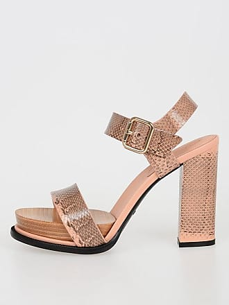 Tod's Printed Leather Sandals with Plateau size 36
