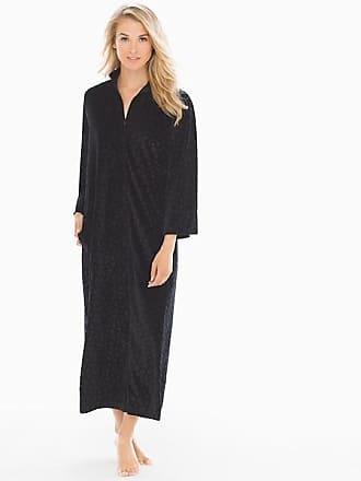 Natori Trance Pajama Caftan Black, Size XS, from Soma