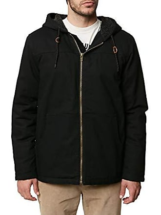 O'Neill Mens Detroit Jacket, Black, XL