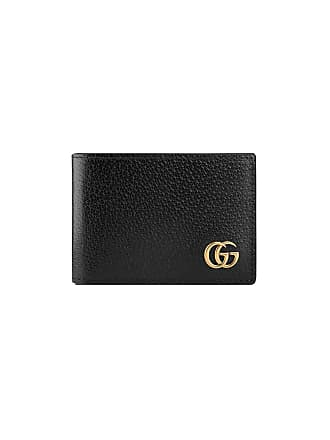 bed58618093 Gucci GG Marmont leather bi-fold wallet - Black