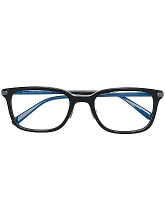 Brioni Armação de óculos retangular - Preto