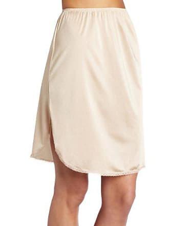 Vanity Fair Womens 360° Half Slip 11760, Damask Neutral, 2X-Large (24 Length)