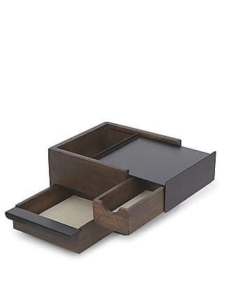 Umbra Black & Walnut Stowit Schmuckschatulle - Black/Brown
