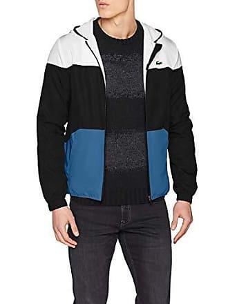 d7c833c726 Lacoste Sport BH3588 Blouson Homme Noir (Blanc/Noir-Neottia 6s9) X-