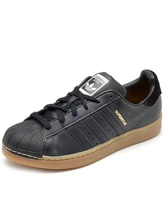 adidas Originals Tênis Couro adidas Originals Superstar w Preto