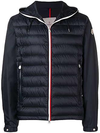Moncler padded hooded jacket - Blue
