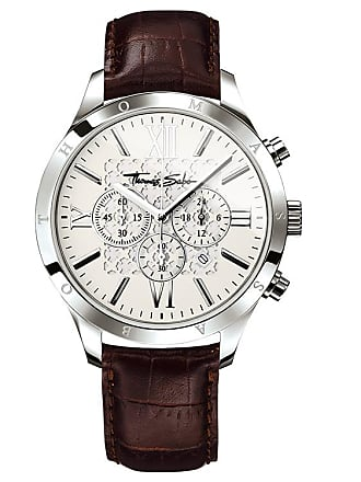 Thomas Sabo Thomas Sabo Mens Watch silver-coloured WA0016-212-201-43 MM