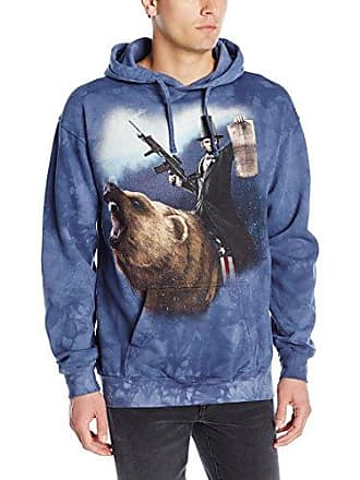 The Mountain Lincoln The Emanc Adult Hoodie, Blue, 2XL