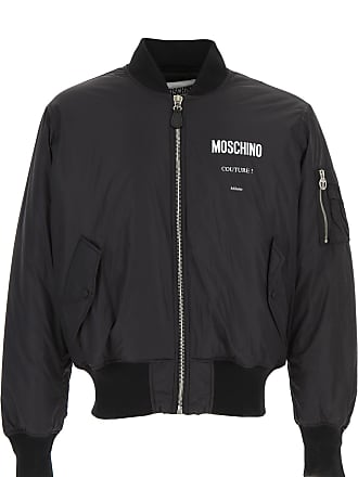 bb1bfe6d69 Moschino Giacca Uomo On Sale, Nero, Nylon, 2017, M XL