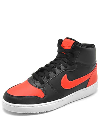 Nike Tênis Nike Sportswear Ebernon Mid Preto/Laranja