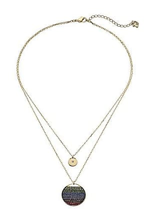 fd71de3b1587 Swarovski Ginger Layered Pendant Necklace (Dark Multi) Necklace