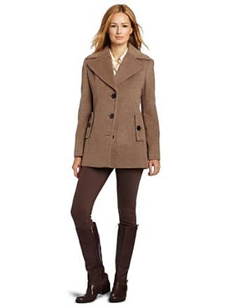 15915a5363dd Calvin Klein Womens Single Breasted Wool Coat