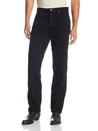 Wrangler Mens Extra Big Rugged Wear Relaxed Fit Jean,Overdyed Black,56x28