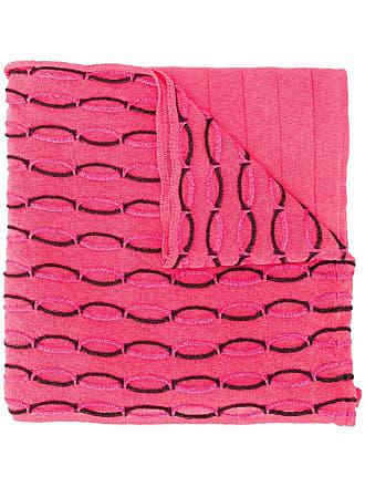 M Missoni geometric pattern scarf - Rosa