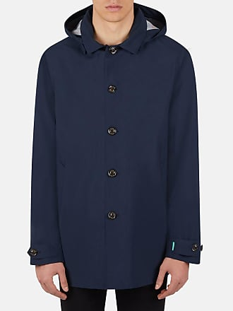 Save The Duck Trench uomo recycled / Blu