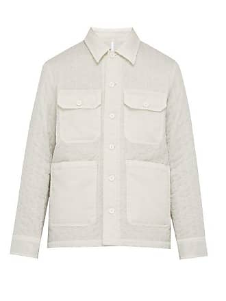 Helmut Lang Quilted Technical Jacket - Mens - White