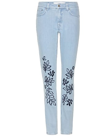 Victoria Beckham Embroidered jeans