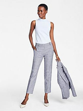 ANN TAYLOR The Ankle Pant In Glen Check