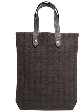 e81b804838c34 Hermès Hermes Vintage Bag In Brown Canvas And Brown Grained Leather