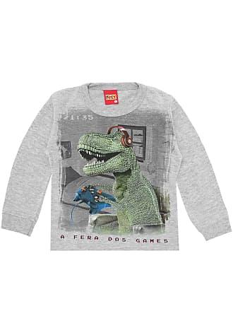 KYLY Camiseta Kyly Menino Estampado Cinza