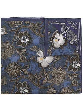Etro floral paisley print scarf - Purple