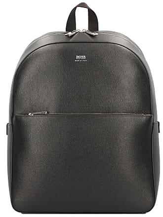 10f9aab7aa59c HUGO BOSS Signature Rucksack Leder 41 cm Laptopfach