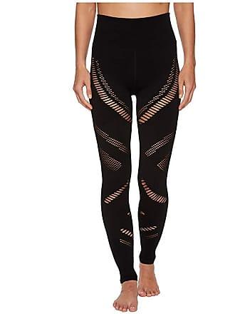 5aa1c37ea83286 Alo High-Waist Seamless Radiance Leggings (Black) Womens Casual Pants