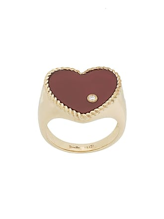 Yvonne Léon 9kt gold and diamond Heart ring