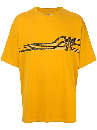 Wooyoungmi Camiseta com logo - Amarelo