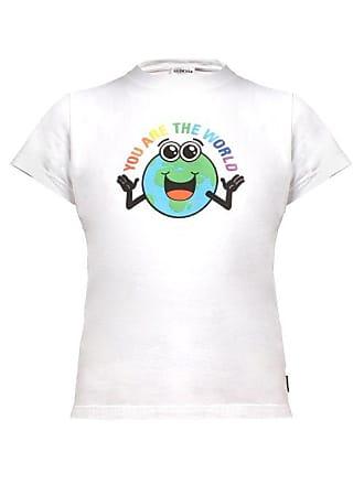 9a12aed58d79 Balenciaga You Are The World Cotton T Shirt - Womens - White Multi