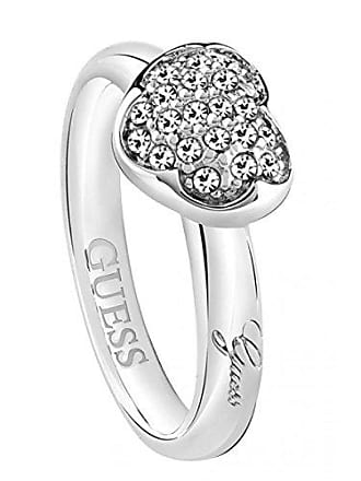 1e0ee6a50fc6 Guess Mujer Acero Inoxidable Blanco Cristal