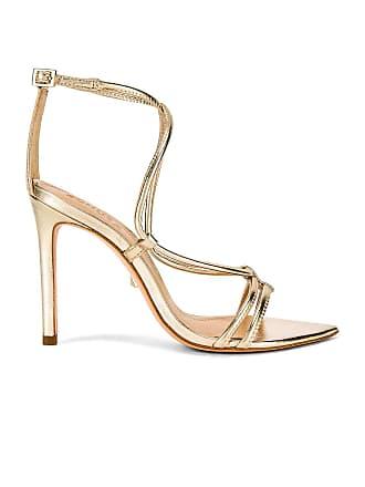 Schutz Evellyn Heel in Metallic Gold