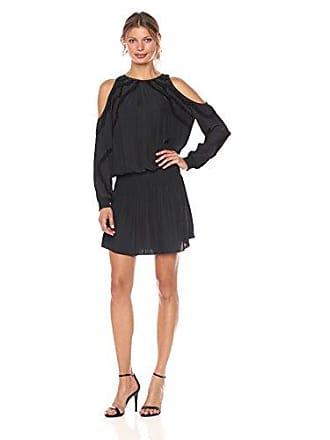 Ramy Brook Womens Taima Dress, Black, M