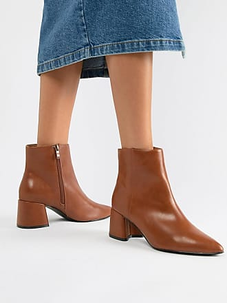 ad77ced92cb Park Lane Block Heel Ankle Boots - Brown