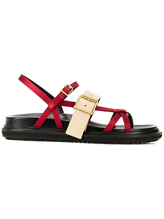 Marni Fussbett sandals - Red
