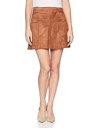 12f7c05198 Bcbgmaxazria Womens Corinne Faux-Suede Mini Skirt