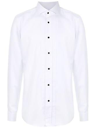 HUGO BOSS Camisa slim fit easy iron - Branco