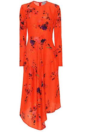 Preen Marcello floral silk dress