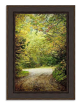 Tangletown Fine Art Summers End Framed Art Green