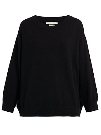 Queene and Belle Queene And Belle - Round Neck Cashmere Sweater - Womens - Black