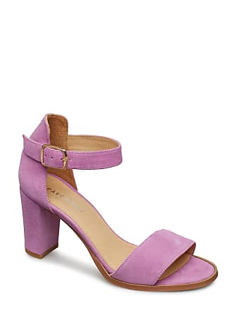 9687a279acb7 Pavement Silke Sandal Med Klack Rosa PAVEMENT
