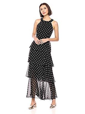 2fa6edfa3f0 Tommy Hilfiger Womens Chiffon Tier Maxi Dress