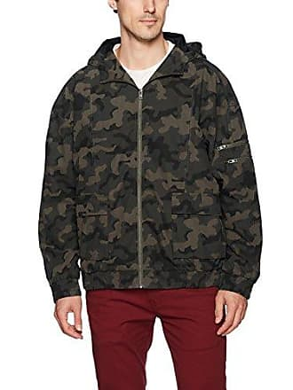 Zanerobe Mens Box Jacket, Dark camo, xs