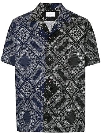 Ports V Camisa com estampa de bandana - Preto
