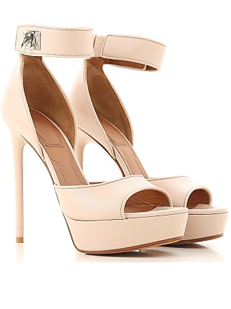 Givenchy Sandals for Women On Sale in Outlet, Powder Pink, Leather, 2017, 9