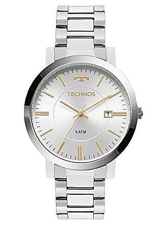 Technos Relógio Feminino Technos Dress 2115KZY/3K Prata