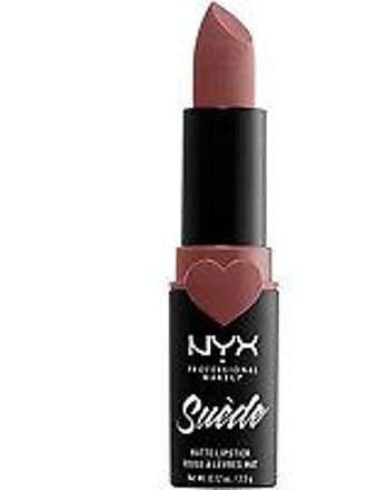 NYX Cosmetics Suede Matte Lipstick - Brunch Me (light dusty rose)