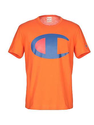 CHAMPION REVERSE WEAVE BIG C LOGO CREWNECK T-SHIRT - TOPS - T-shirts 813ce8119247