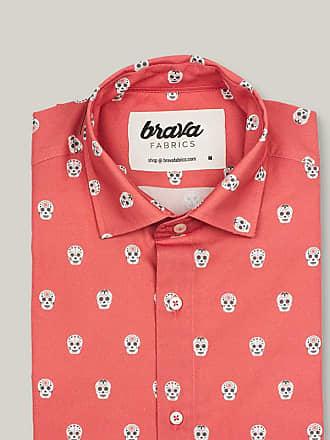 Brava Fabrics Calavera Catrina Printed Short Sleeve Shirt