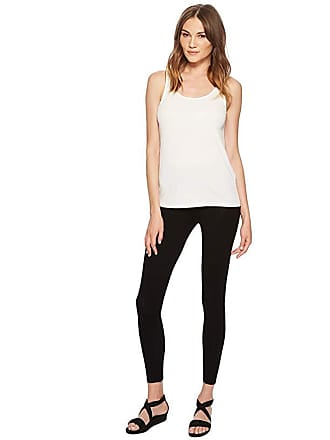 Eileen Fisher System Viscose Jersey Leggings (Black Viscose Jersey) Womens Casual Pants